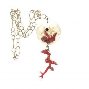LS 21 ciondolo coralli perle madreperla la sicilienne gioielli d'arte made in italy collections summer 2016 collana (2)