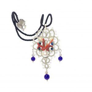 LS 27 La sicilienne gioielli d'arte - Made in Italy collections - sicilia - collana chiacchierino . pendente - ciondolo ss 2016 (2)
